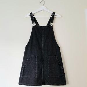 Topshop Dungaree Dress